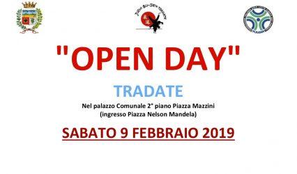 Open Day – Sabato 9 Febbraio