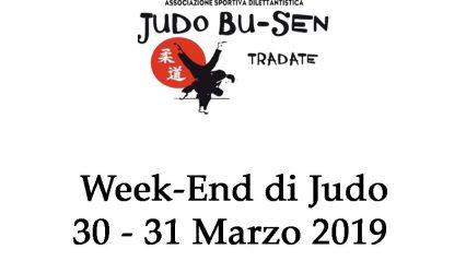 Week end Judo 30-31 Marzo